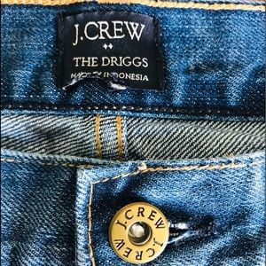 J Crew men's 💯 cotton jeans